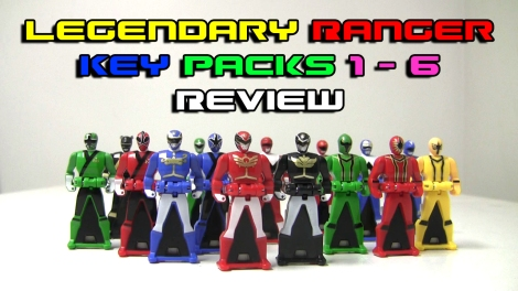 Legendary Ranger Key Packs 1-6 Review