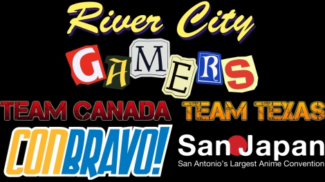 River City Gamers @ ConBravo! & San Japan Samurai 7 THIS WEEKEND