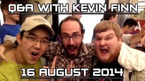 Kevin Finn Q&A titlecard