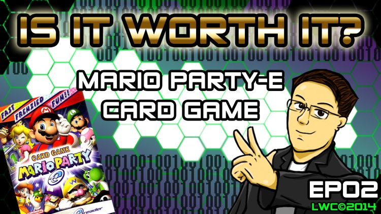 Is It Worth It EP02 Mario Party-E Titlecard