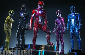 Power Rangers suits 2017 1st Press photo - (c) Saban Films/LionsGate